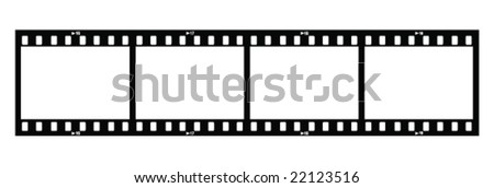 stock-vector-four-film-strips-with-holes