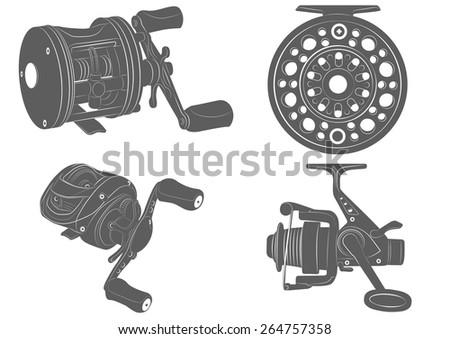 Free Fishing Tools Vector Download Free Vector Art Stock Graphics