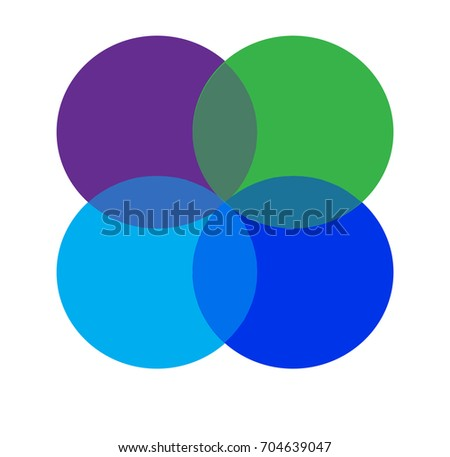 Four Interlocking Circles