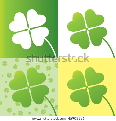 four leaf clover wallpaper. four leaf clover design with four