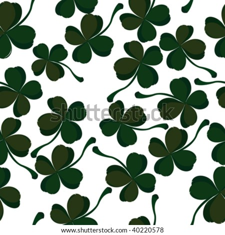 four leaf clover pattern
