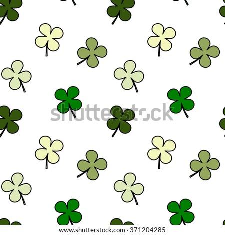 four leaf clover seamless