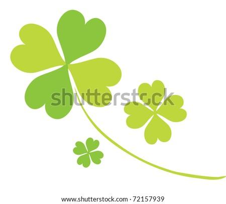 four leaf clovers for st