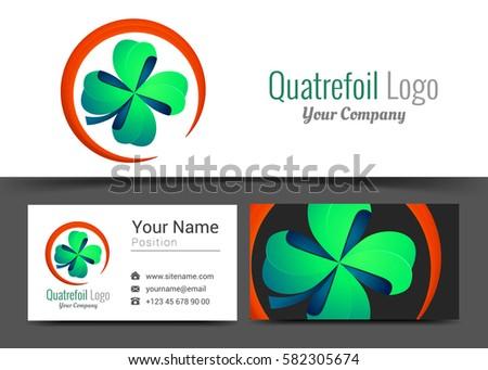 four leaf green clover lucky