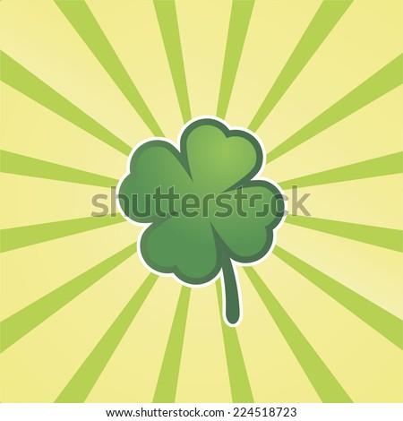 four leaved cloverleaf  sun
