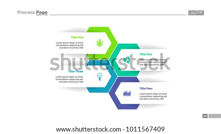 Four Options Plan Slide Template