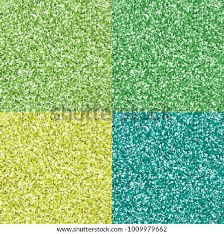 four seamless glitter textures