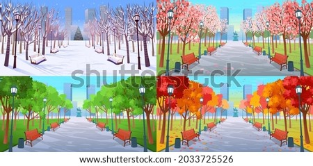 four seasons in the park