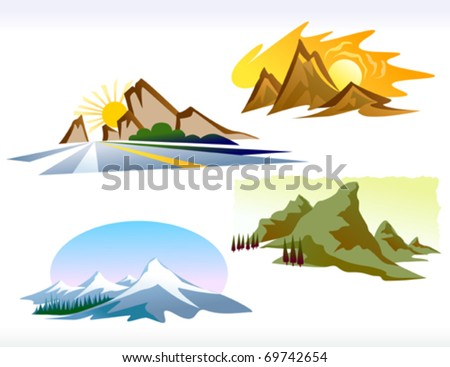 FOUR SEASONS MOUNTAIN ICONS