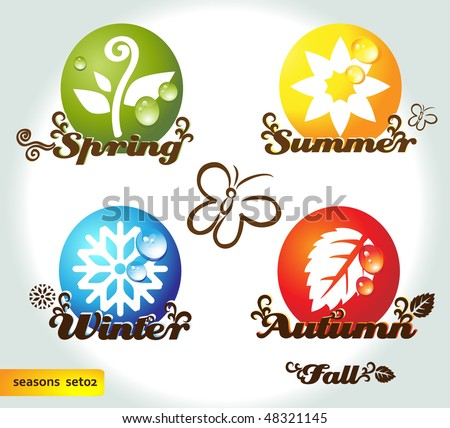 Four seasons names with elements