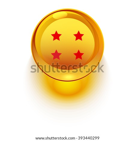 four star glass ball
