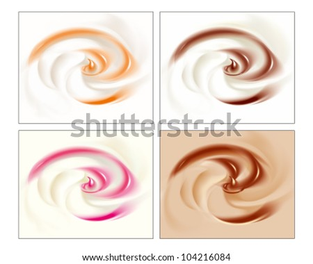 Four surfaces of cream