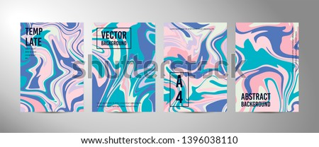 four vector abstract background