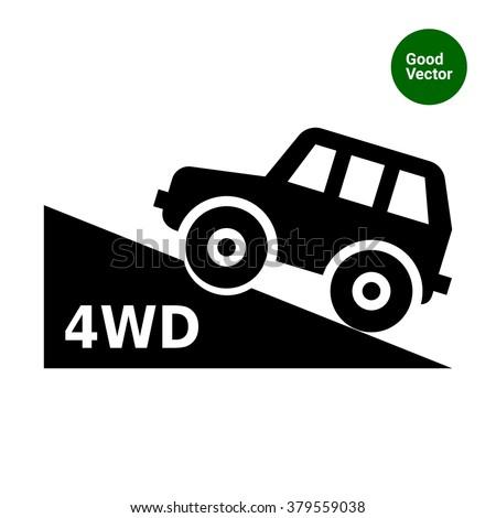 Four wheel drive car Stock photo ©