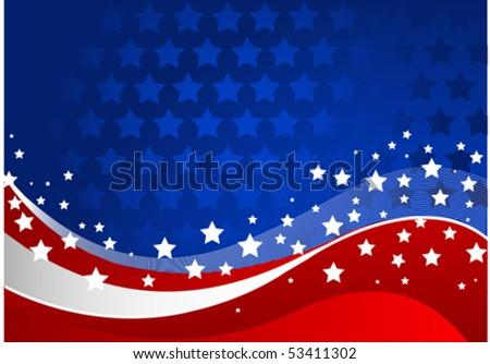 Fourth of July celebration background