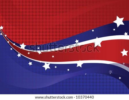 Fourth of July Patriotic Design