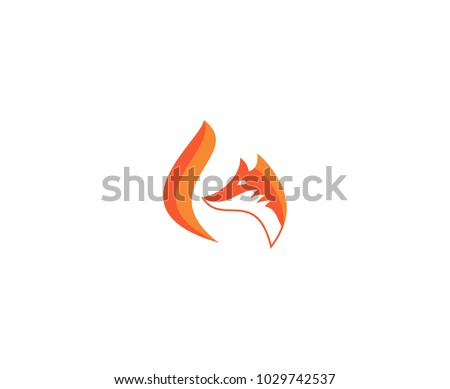 Fox logo tail