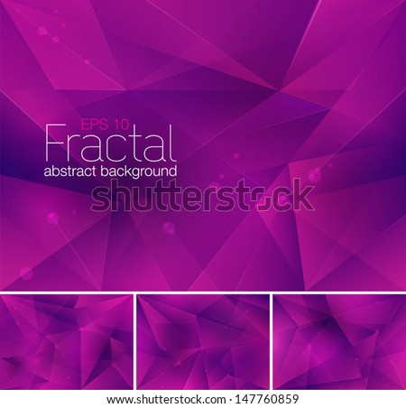 stock-vector-fractal-abstract-background