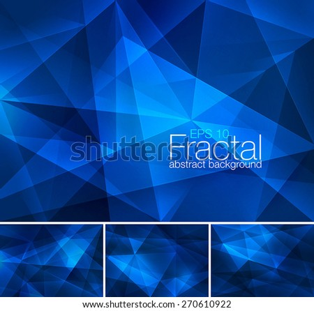Stock Photo Fractal abstract background