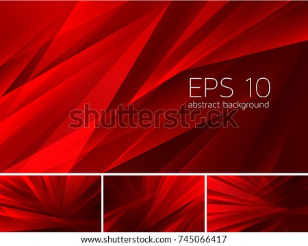 Fractal abstract background. Low poly vector background series, suitable for design element and web background