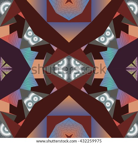 fractal abstracted seamless