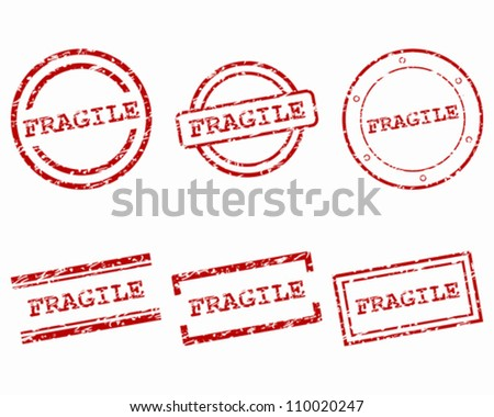 Fragile stamps