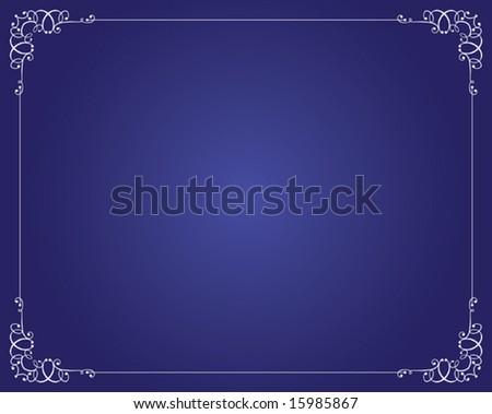 Frame, Border Design Stock Vector Illustration 15985867 ...  Shutterstock Border Design Free Download