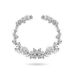 frame botanical frame ornament vector. Wedding invitation. Save the date title name