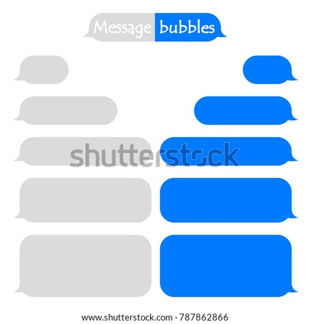 Frame for text sms and iMessage