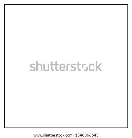 frame Icon isolated vector  #1348366643