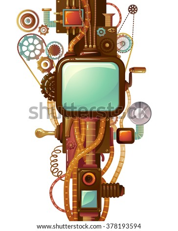 frame illustration designed