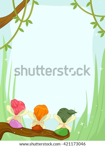frame illustration featuring