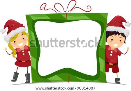 santa and kid download free vector art stock graphics images rh vecteezy com Santa Claus Santa Art