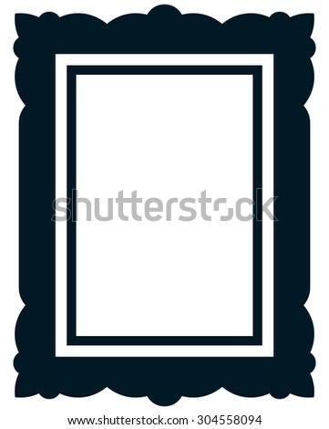 frame vector vintage picture