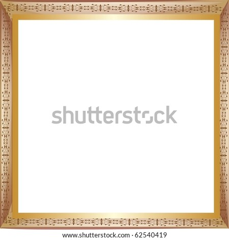 frame with a pattern