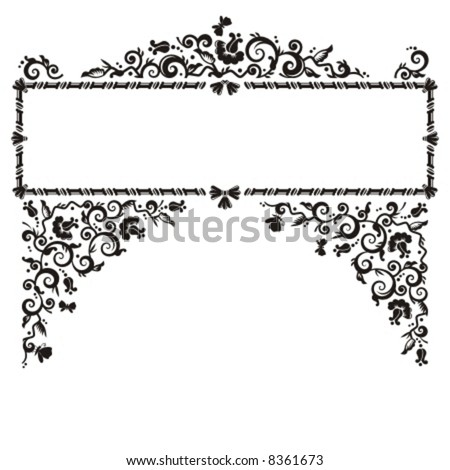 flower patterns black and white. pattern, lack and white (