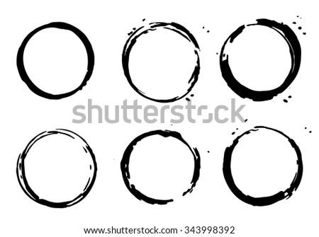 frames black color. Vector illustration