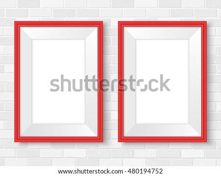 Elegant Realistic Photo Frame Template Vector Download Free Vector