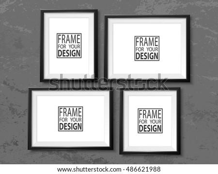 Black Picture Frame Mockup Psds Free Photoshop Psds At Brusheezy