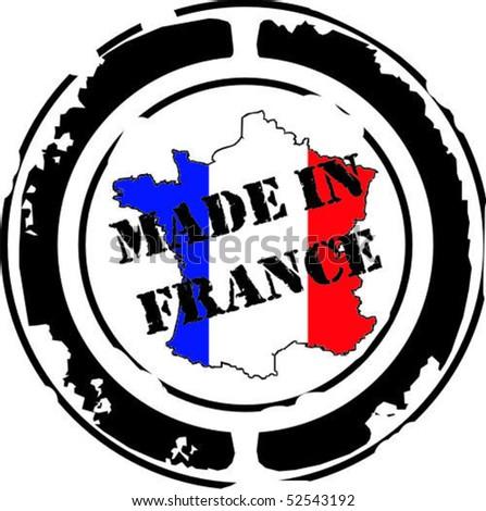 France color stamp