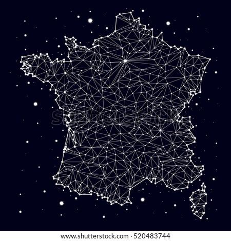 france map constellation