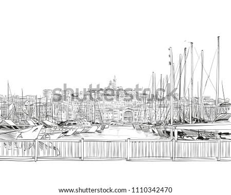 france marseille old port