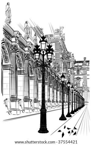 France, Paris: Classical architecture