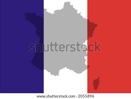 France - vector illustration