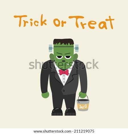 frankenstein  trick or treat