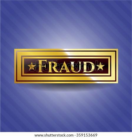 Fraud gold emblem