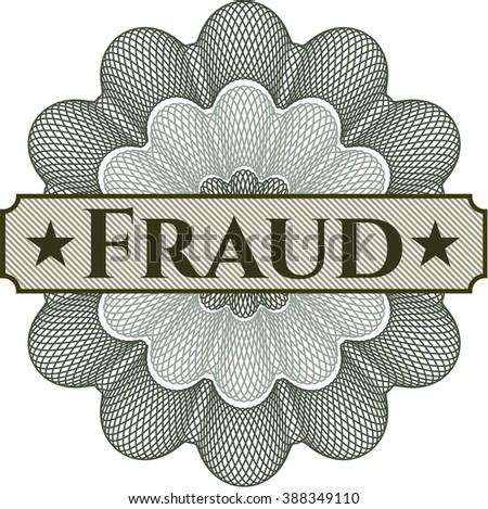 Fraud rosette