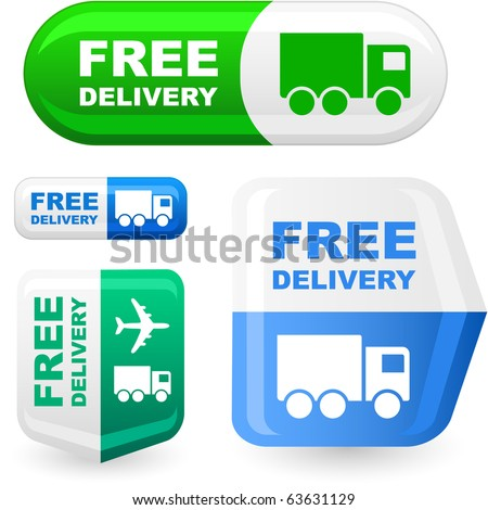 stock photos free. stock vector : Free delivery