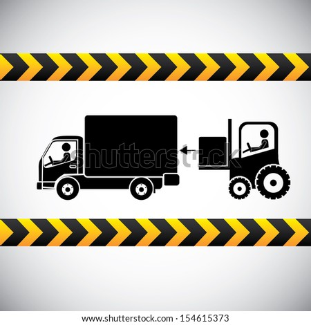 free delivery label over gray background vector illustration