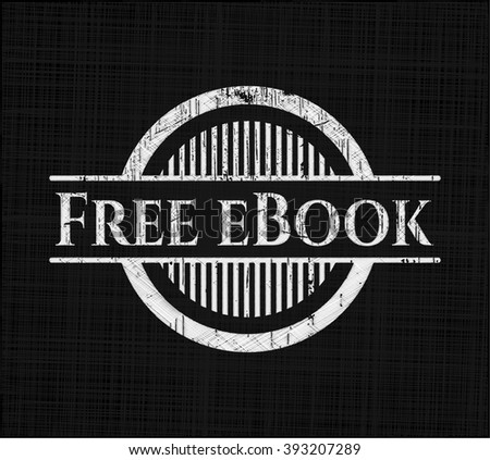 Free eBook with chalkboard texture